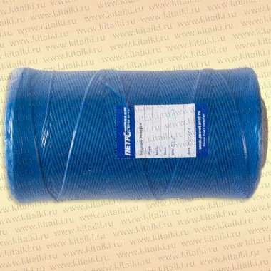 Шнур плетеный Универсал, 2,5 мм, 1000 м, синий