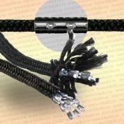 Шнур для рыболовных сетей утяжеляющий, 100 гр/м, 1 м