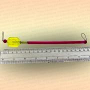 Сигнализатор поклевки подвесной с гнездом под светлячок, 20 см