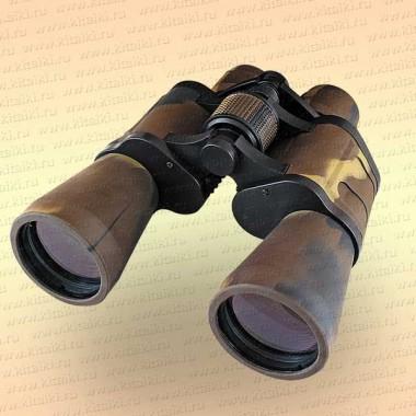 "Бинокль ""Следопыт"", 10х50, хаки, 180x85x180 мм, 592 гр., в чехле"