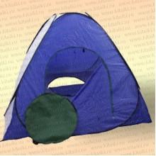 Палатка зимняя Автомат сине-белая, 1,5 м х 1,5 м без дна