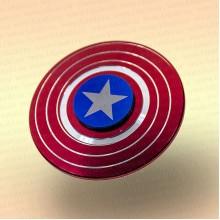 Спинер диск, металл, в коробке капитан-америка
