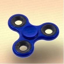 Спинер трехлучевой металл, с кольцами