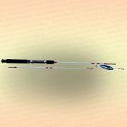 Спиннинг штекерный CROCODILE 2-х секционный 1,20 м, тест 50-150 гр