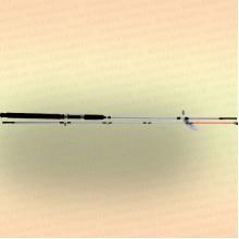 Спиннинг штекерный CROCODILE 2-х секционный 2,40 м, тест 100-250 гр