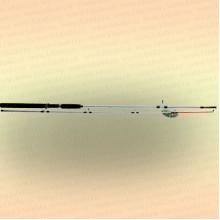 Спиннинг штекерный CROCODILE 2-х секционный 2,70 м, тест 100-250 гр