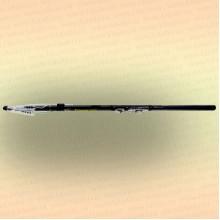 Спиннинг телескопический с кольцами Mikado Princess 4,5 м, тест 5-20 гр