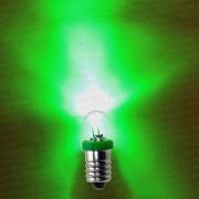 Светодиодная лампа торпеды для установки сетей подо льдом зеленая