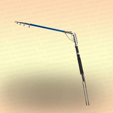 Удочка с самоподсекателем, хром, 2,4 м, Liesna