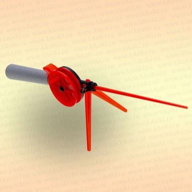 Удочка зимняя Окунь WHP, кат 60мм, дл 220 (Ч/К) ручка пенопласт