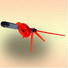 Удочка зимняя WH, кат 60мм, дл 220 (Д/О) ручка поликарбонат