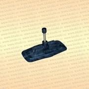Уключина поворотная резиновая 10 мм.