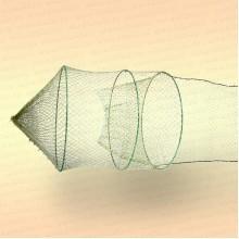Крылёна однобутерная D=500 мм, L крыла= 3 м, ячея 22 мм