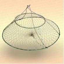 Раколовка - раскладушка 400 мм, 2 кольца
