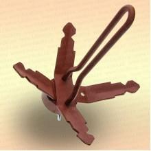 Якорь стальной разборный в чехле, вес 2,5 кг