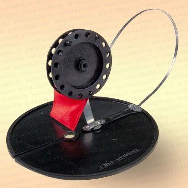 Жерлица неоснащенная, D=200 мм, катушка 75 мм, стойка алюминий