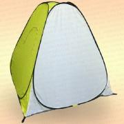 Палатка зимняя Mifine автомат, дно на молнии, желтая 1,5 м× 1,5 м× 1,5 м
